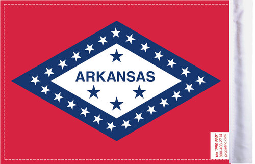 FLG-AR Arkansas Flag 6x9 (BACK)
