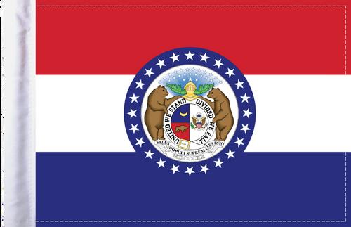 FLG-MO  Missouri Flag 6x9
