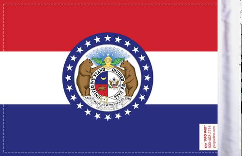 FLG-MO  Missouri Flag 6x9 (BACK)