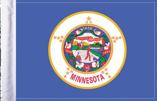 FLG-MN  Minnesota Flag 6x9