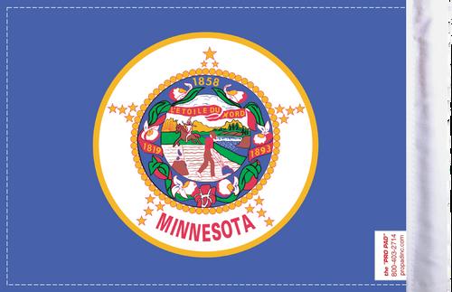 FLG-MN  Minnesota Flag 6x9 (BACK)