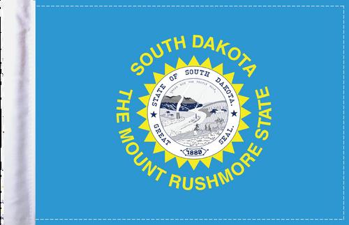 FLG-SD  South Dakota flag 6x9