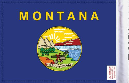 FLG-MT  Montana Flag 6x9 (BACK)