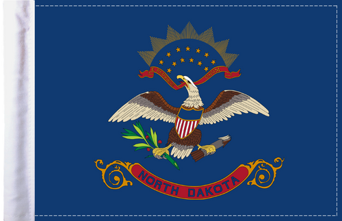 FLG-ND  North Dakota flag 6x9