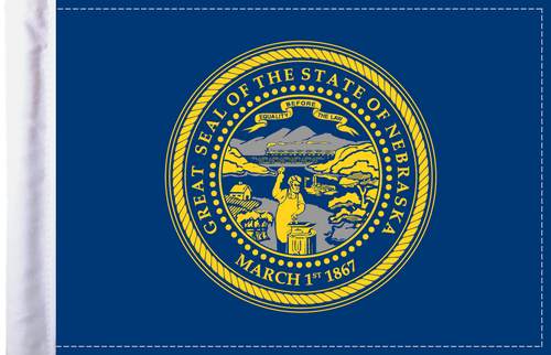 FLG-NE  Nebraska Flag 6x9