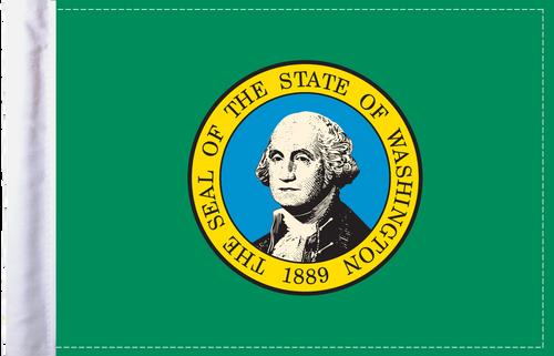FLG-WA  Washington flag 6x9