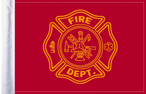 FLG-FIRF Firefighter 6x9 flag