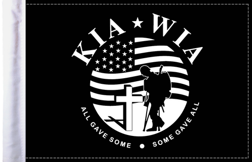 FLG-KIA  Killed in Action 6x9 flag