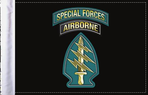 FLG-SPFAIR  Special Forces Airborne 6x9 flag