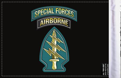 FLG-SPFAIR  Special Forces Airborne 6x9 flag (BACK)