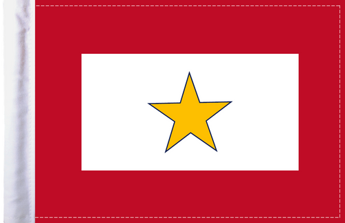 FLG-GS  Gold Star Service 6x9 flag