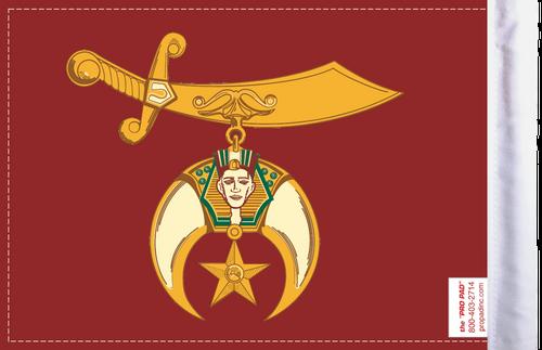 FLG-SHRINE Shriners flag 6x9 (BACK)