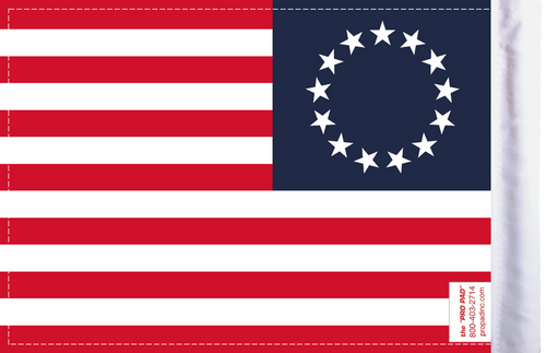 FLG-BROSS Betsy Ross Flag 6x9 (BACK)
