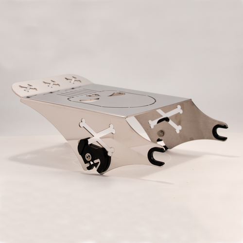 Skull Quick Detachable Rack in Polished Stainless