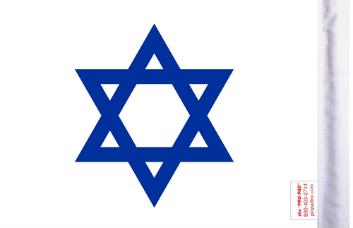 FLG-SODAV Star of David flag 6x9 (BACK)