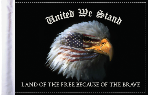 FLG-UWS  United We Stand flag 6x9