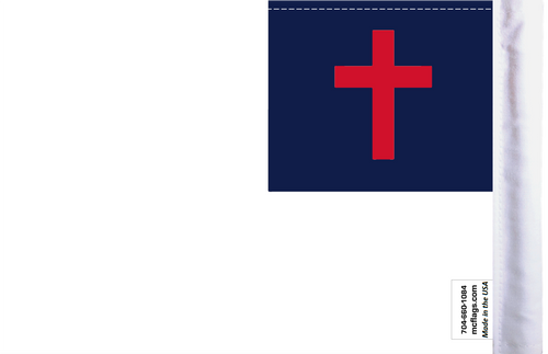 "6""x9"" Highway flag:  Christian (BACK)"