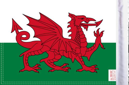 FLG-WALES15  Wales flag 10x15 (BACK)