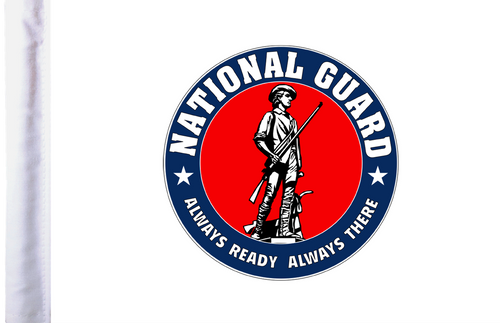 FLT-NATGD  National Guard 6x9 flag