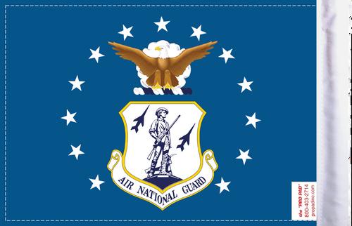 FLG-ARNTGD  Air National Guard 6x9 flag (BACK)