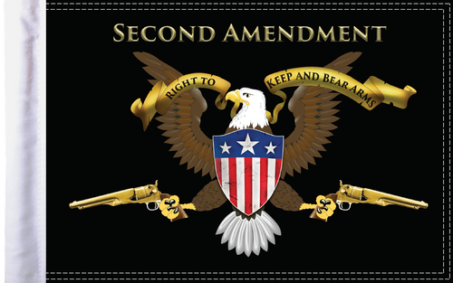 FLG-2AMND15 Second Amendment 10x15 flag