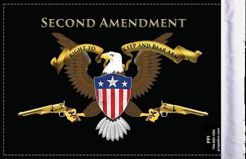 FLG-2AMND Second Amendment 6x9 flag (BACK)
