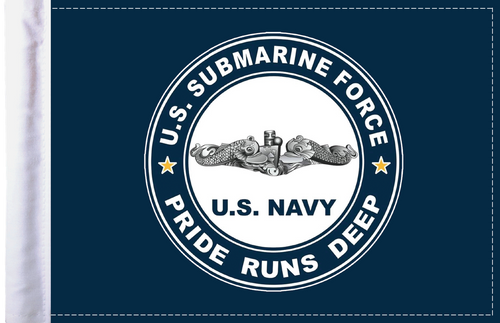 FLG-NVSUB Navy Submarine 6x9 Flag