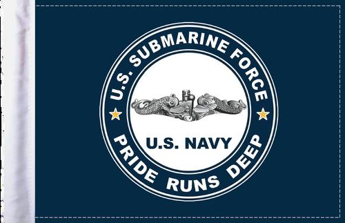 FLG-NVSUB Navy Submarine 6x9 Flag