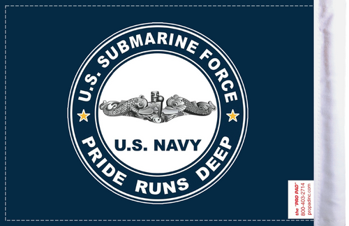 FLG-NVSUB Navy Submarine 6x9 Flag (BACK)