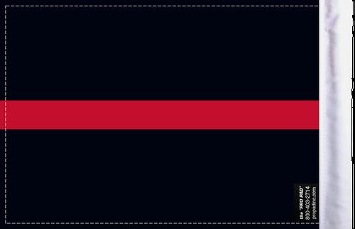 FLG-TRL-FIRE  Firefighter Thin Red Line 6x9 flag (BACK)