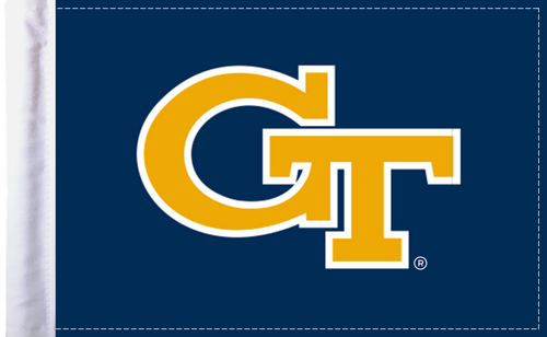 "Georgia Tech 6""x9"" Motorcycle Flag"
