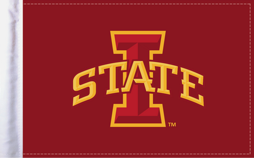 """Iowa State Cyclones 6""""x9"""" Motorcycle Flag"""