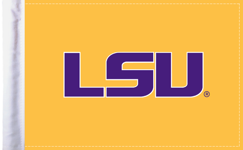 """Louisiana State Tigers 6""""x9"""" Motorcycle Flag"""