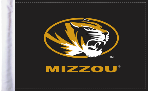 "Missouri Tigers 6""x9"" Motorcycle Flag"