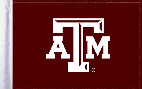 FLG-TXAM Texas A&M flag 6x9