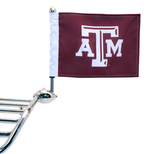 "Shown on 1/2"" Football Flag Mount (Flag Mount sold separately)"