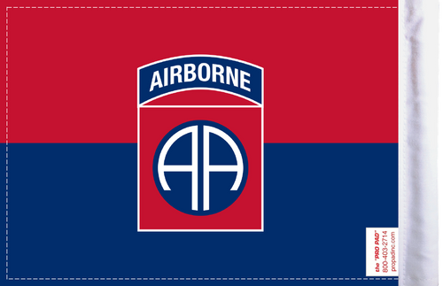 FLG-82AIR2  Army 82nd Airborne Division 6x9 flag (BACK)