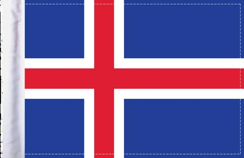 FLG-ICE  Iceland flag 6x9