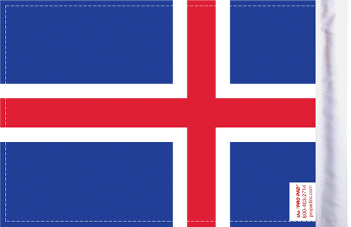 FLG-ICE  Iceland flag 6x9 (BACK)