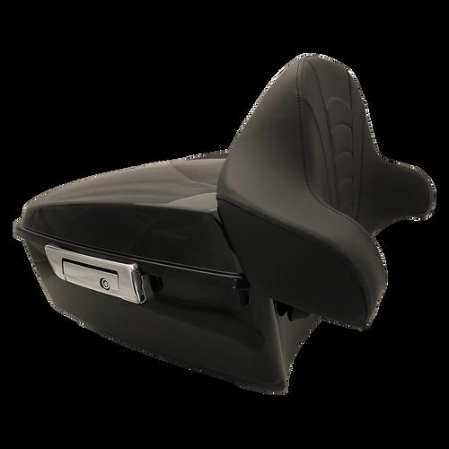 #TPK-CRZRGB-C;  Tour Pack Cruzer, Gloss Black, Chrome Latch