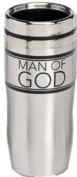Man of God Stainless Steel Travel Mug