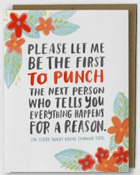 Happens for A Reason Empathy Card