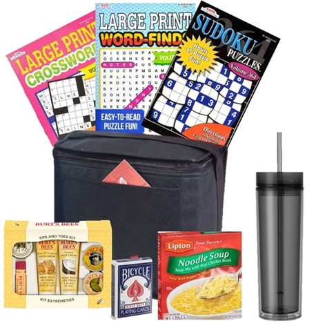 Get Well Gift Cooler Care Package