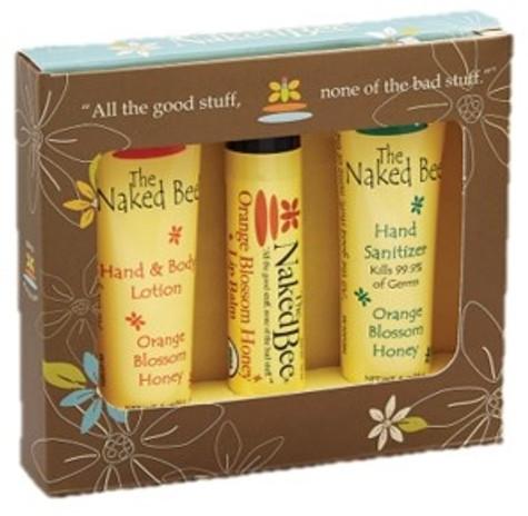 The Naked Bee Mini Bee Kit Orange Blossom Honey