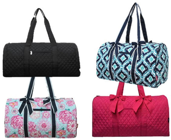 Quilted Overnight Bags