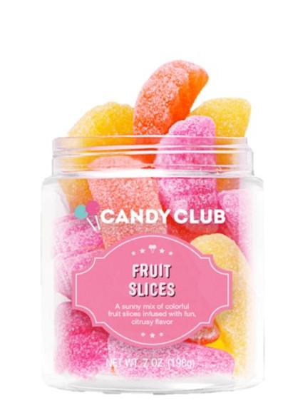 Fruit Slice Gummy Candy