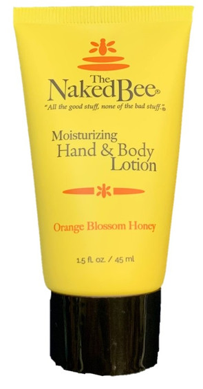 The Naked Bee Orange Blossom Honey Hand and Body Lotion Travel Size