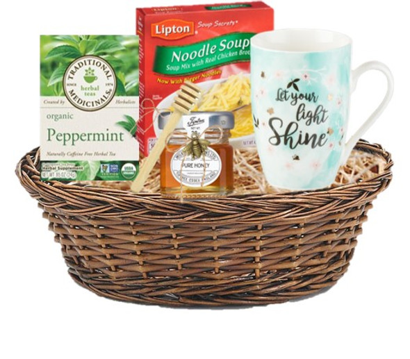 Soup Gift Basket with Tea