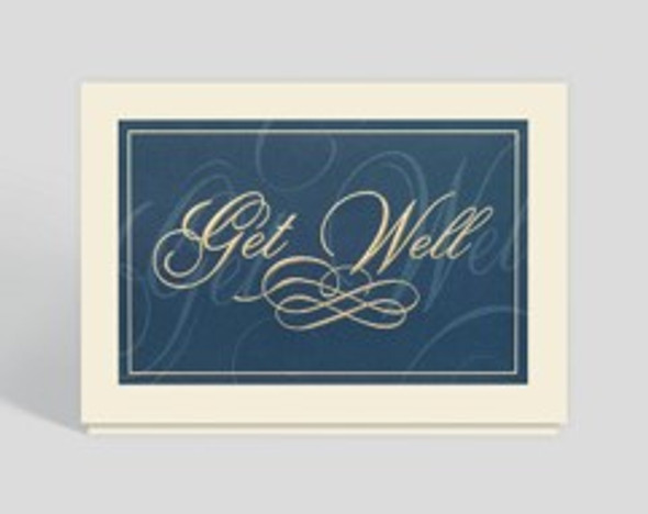 Classically Elegant Get Well Card by Debbie Schaefer
