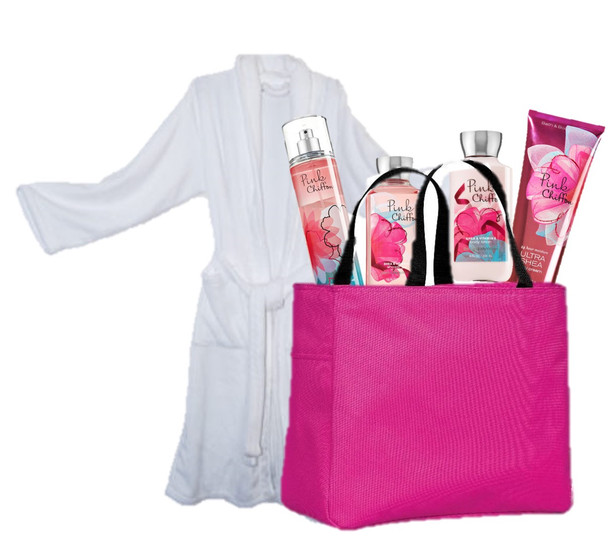 Cozy Robe &  Spa Gift Basket